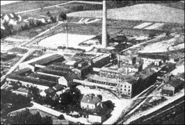 Cukrownia w Strzegomiu - lata 30-te XX w.