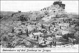 Kamieniołomy na Górze Zwycięstwa - 1990 r.