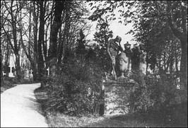 Cmentarz św. Mikołaja - pocz. XX w.