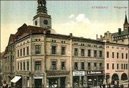 Rynek Środkowy, ok. 1929 r.