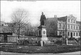 Pomnik Cesarza Wilhelma / obec. ul. Paderewskiego / pocz. XX w.