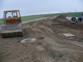 Trwa budowa drogi