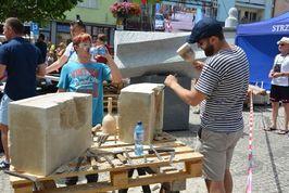 Efektowne warsztaty kamieniarskie w Strzegomiu