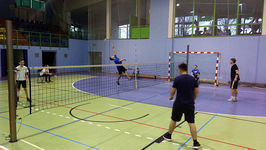 Rywalizowali w badmintona