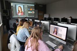Uczniowie z Zespołu Szkół na warsztatach w Wyższej Szkole Bankowej we Wrocławiu