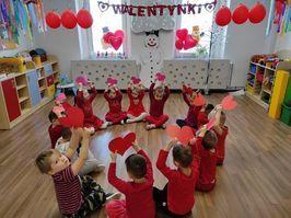 Walentynki w Przedszkolu w Stanowicach