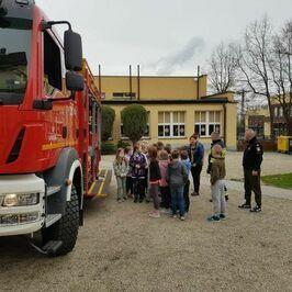 Próbna ewakuacja w ZSP w Jaroszowie