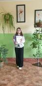 Uczennica z Goczałkowa w gronie laureatów konkursu diecezjalnego