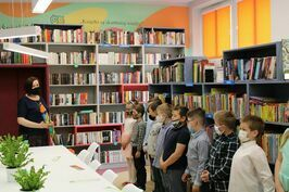 Pasowanie na czytelnika w Jaroszowie