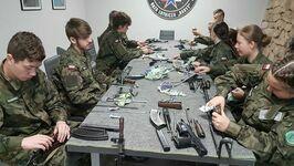 Zajęcia poligonowe klas mundurowych!