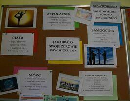 Światowy Dzień Zdrowia Psychicznego w PSP w Kostrzy