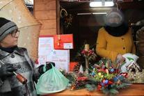 Gminna Rada Seniorów na Jarmarku Bożonarodzeniowym