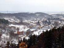 Widok na miasteczko
