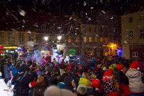 Świebodzice odwiedził Mikołaj (fot. R. Podfigórny)