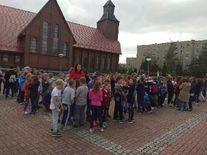 Próbna ewakuacja uczniów w SP nr 2