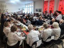 Spotkanie wigilijne w Klubie Seniora
