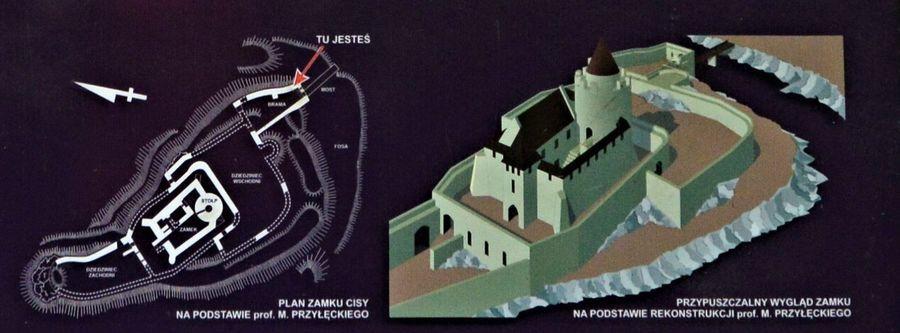 Zamek Cisty Zrzut