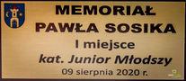 tabliczka: Memoriał Pawła Sosika