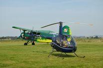 helikopter i samolot