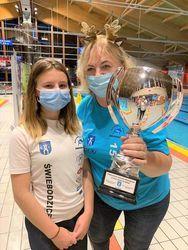 Mikołajkowe zawody pływackie o Puchar Burmistrza Miasta.