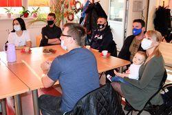 Spotkanie z wolontariuszami wspierajacymi Seniorów w Klubie Senior +.