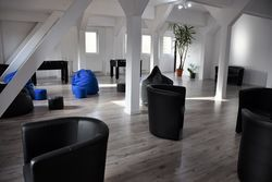 Piękna aula w Zespole Szkół w Świebodzicach