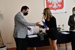 Nagroda dla Wiktorii Pajor za imponujące wyniki w nauce