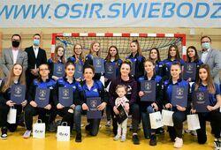 Piłkarki ręczne z MKS Victoria Świebodzice Mistrzyniami Dolnego Śląska