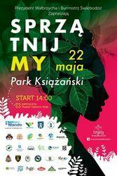 Sprzątnijmy Park Książański - II edycja