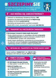 Kampania  informacyjna  #SZCZEPIMYSIE