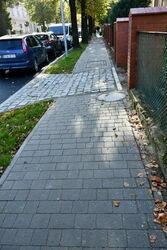 Nowy chodnik przy ul. Aleje Lipowe