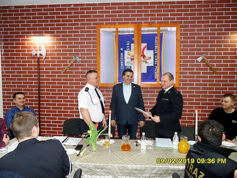 Strażacy po zebraniach sprawozdawczych 2019