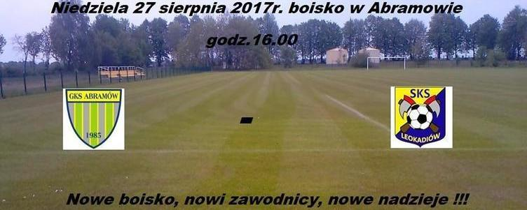 Mecz inauguracyjny na nowym boisku