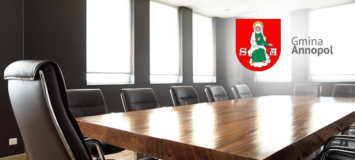 Zaproszenie na XXXI sesję VII kadencji Rady Miejskiej w Annopolu