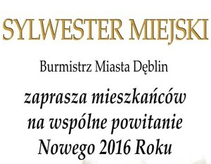 SYLWESTER MIEJSKI