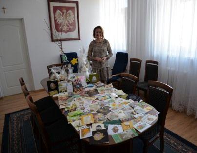 Podziękowania burmistrza Miasta Dęblin Beaty Siedleckiej za nadesłane życzenia Wielkanocne