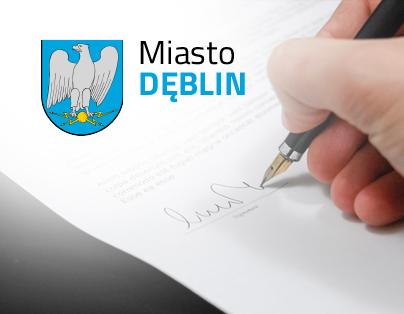 Zarządzenie Burmistrza Miasta Dęblin
