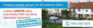 Promocja: Kup nowy dom z pełną automatyką bramową