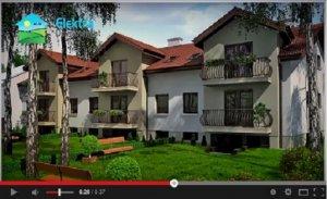 Prezentacja domów na ulicy Goplan