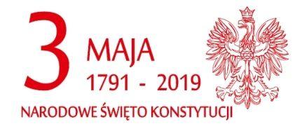Zaproszenie na obchody Święta Narodowego 3 Maja 2019
