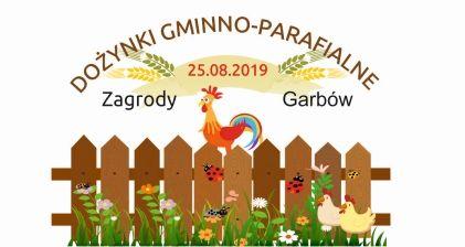 Zaproszenie na Dożynki Gminno-Parafialne 2019