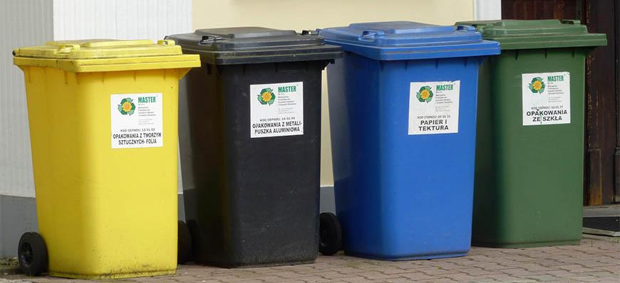 Informacje o opłatach za śmieci