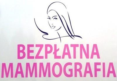 Zapraszamy na bezpłatne badania mammograficzne