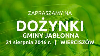 Dożynki Gminy Jabłonna 2016