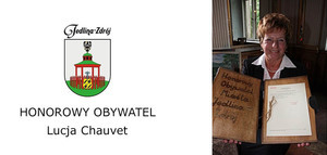 HONOROWY OBYWATEL - LUCJA CHAUVET