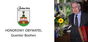 HONOROWY OBYWATEL - GUENTER BOEHM