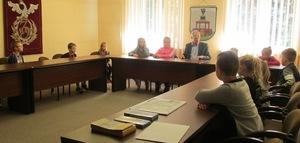 Uczniowie z wizytą w Urzędzie Miasta Jedlina-Zdrój