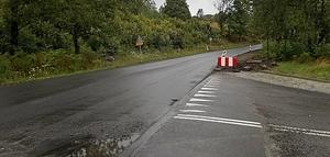 Trwa przebudowa drogi wojewódzkiej nr 381.