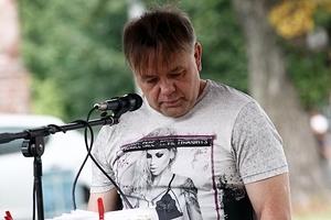 Krzysztof Bucki w Pałacu Jedlinka.