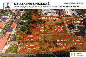 Działka nr 679/15 o pow. 0,1308 ha ul. Jodłowa pod zabudowę mieszkaniową jednorodzinną